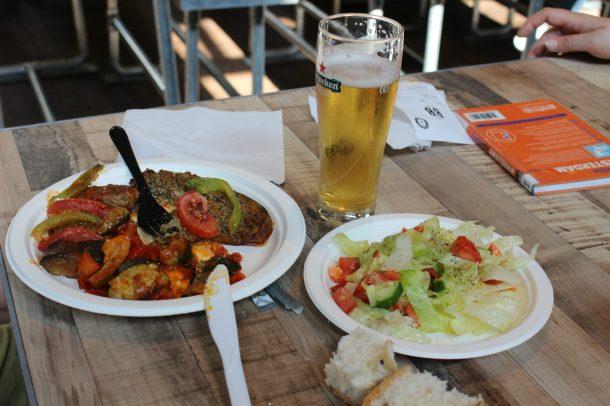 Assiette méditerranéenne pour mon père