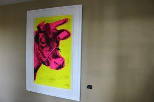 La vache - Andy Warhol