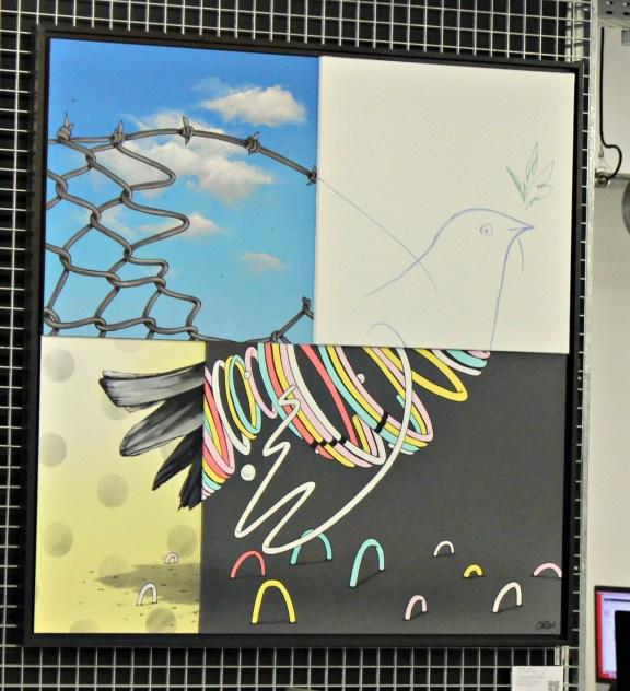 Pieces of Peace 2 par Gris 1, membre du collectif DMV