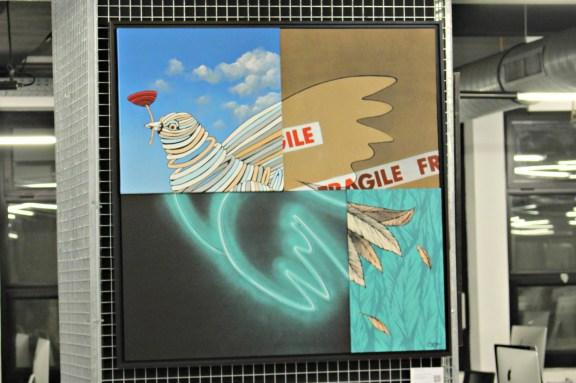 Pieces of Peace 1 par Gris 1, membre du collectif DMV