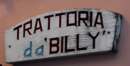 Trattoria da Billy