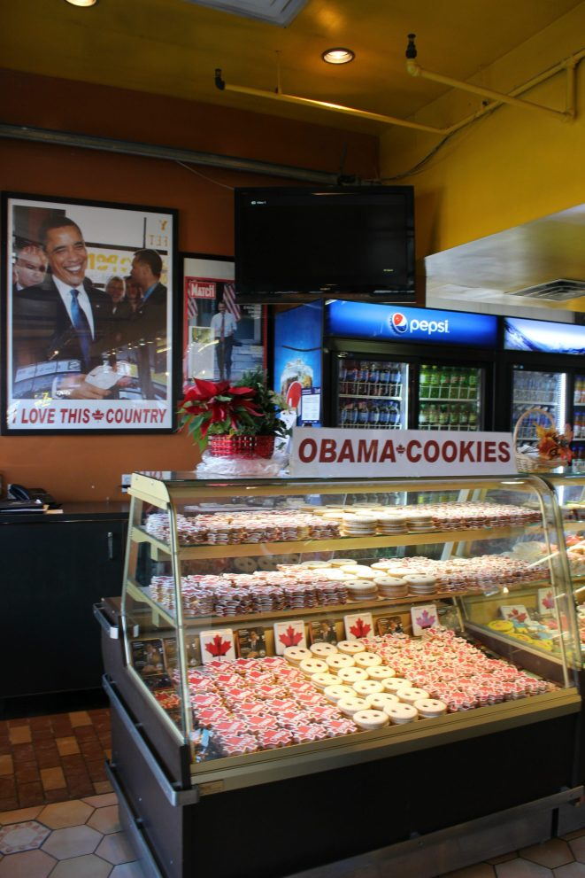 Obama cookie Byward Market