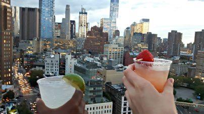 Soirée privée au Rooftop Jimmy à NYC