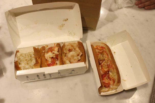 Les sandwiches chez Luke's lobster