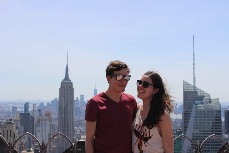 Top of The Rock avec mon chum