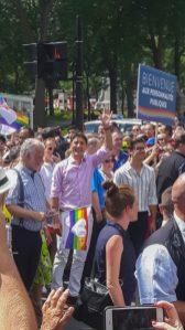 Justin Trudeau à la Gay Pride 2018