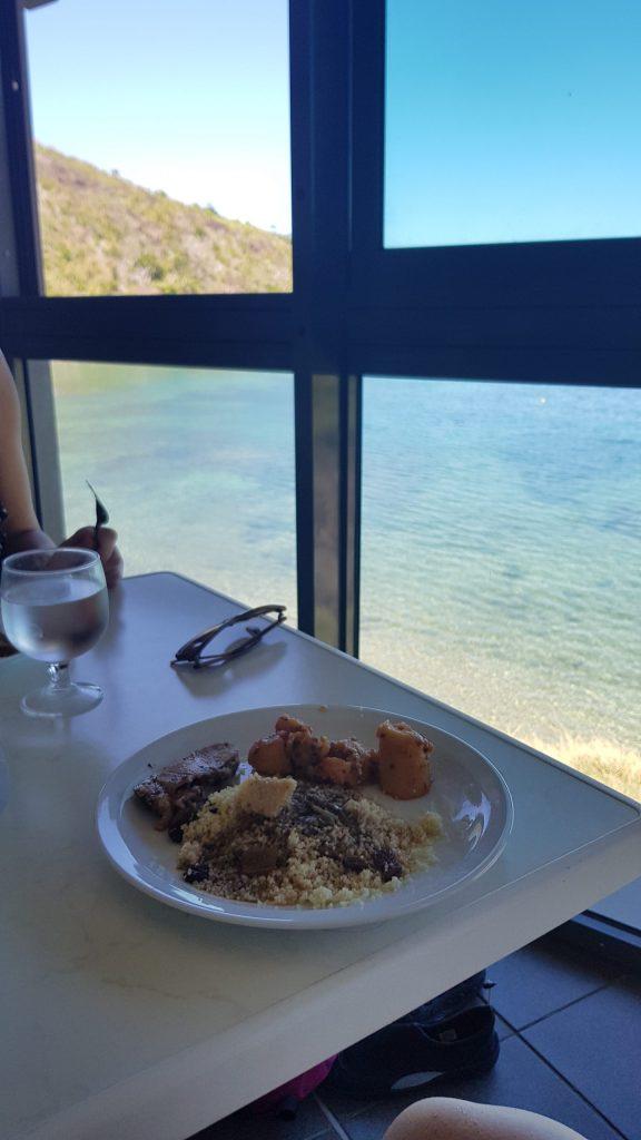 Repas avec vue