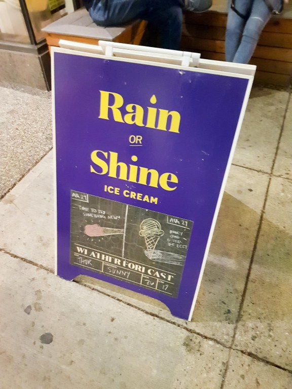 Rain or Shine Ice Cream