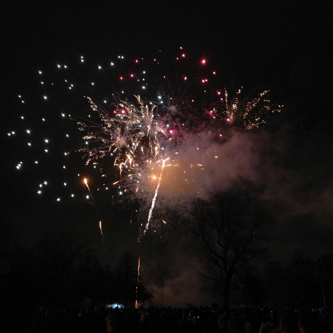 Bonfire night à Leicester