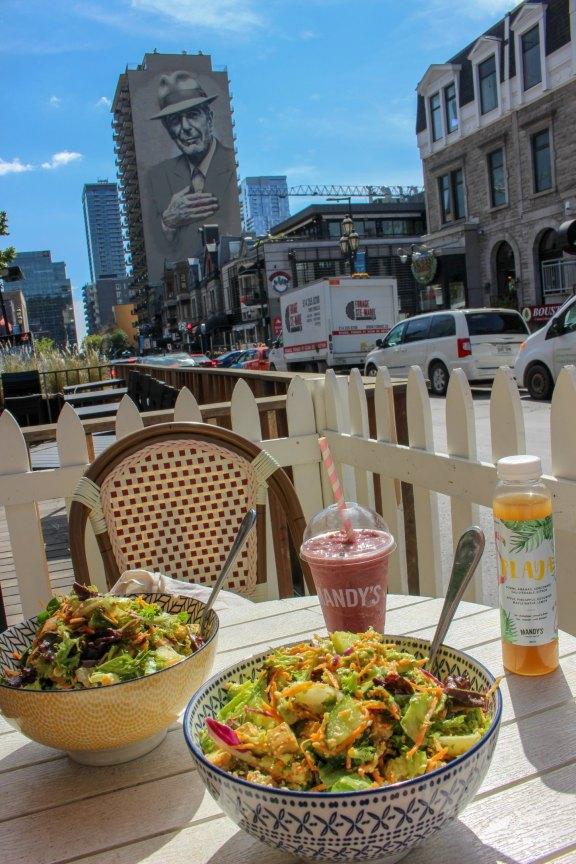 Mandy's et ses délicieuses salades