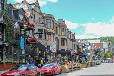 La rue Crescent et son architecture victorienne