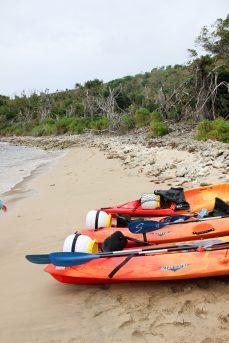 Kayak à l'îlet à Cabrit