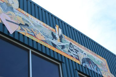 Murale Nirvana Moore's Interior Aberdeen