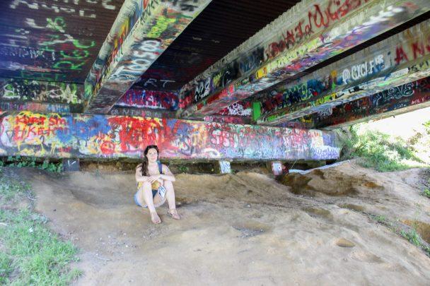 Sous le pont de Aberdeen - Kurt Cobain Memorial Park