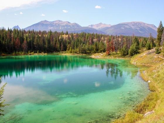 Randonnée Vallée des Cinq Lacs Jasper