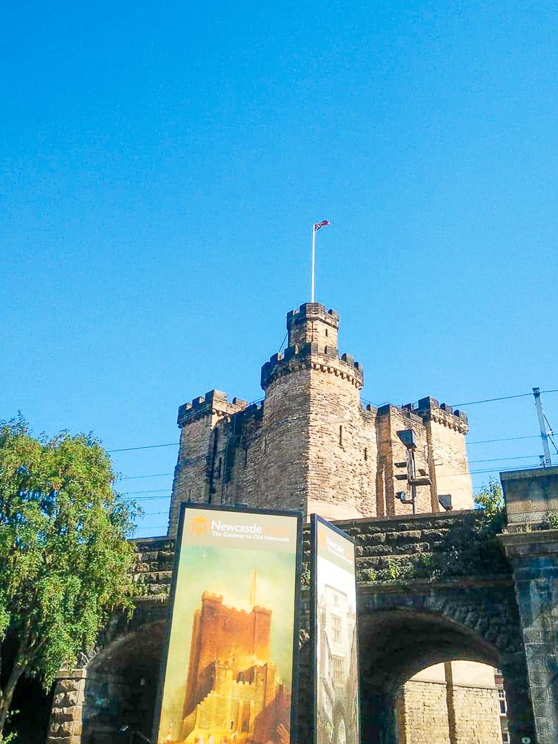 Le château de Newcastle