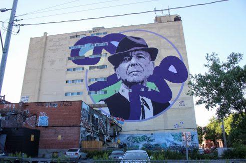Leonard Cohen par Kevin Ledo