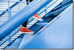 escalier fatigue