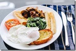 petit déjeuner anglais