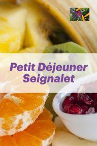 petit déjeuner Seignalet