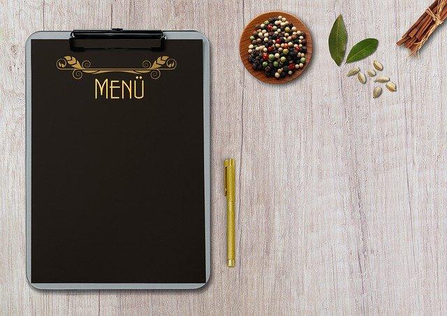 menu hypotoxique festif