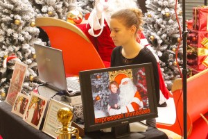 animation photo pere noel