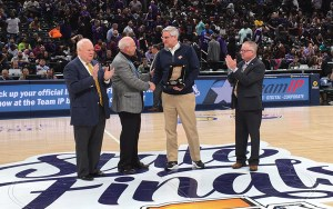 Lee Lonzo Honored for Distinguished Service by the IHSAA
