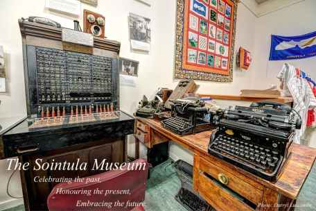 Old telephones, typewriters and the first bilingual telephone exchange in BC - English and Finnish!