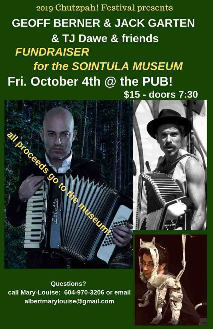 Fundraiser for the Sointula Museum