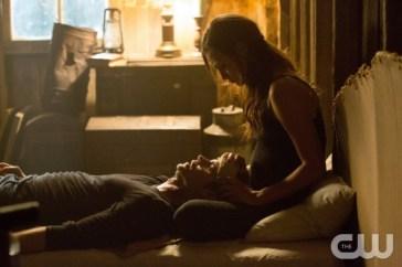 Hayley consoling Elijah