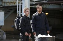 Fitz and Ward on their mission