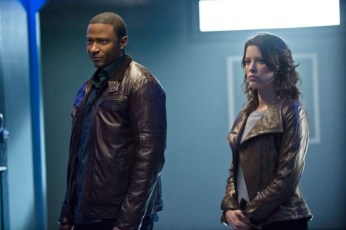 John Diggle and Lyla Michaels