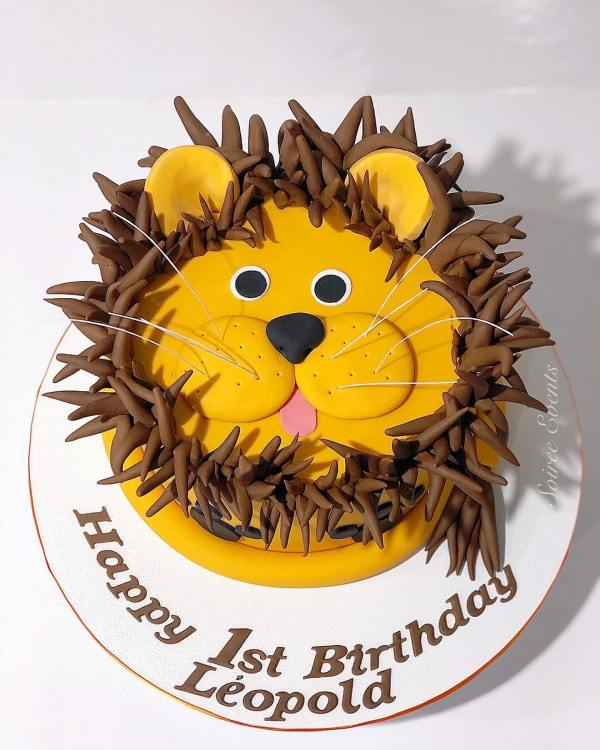 leopold the lion cake