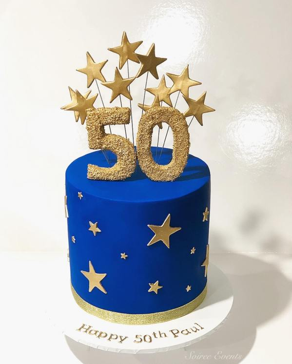 Shooting Star cake