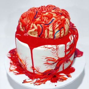 spinal cord brain cake