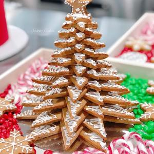 gingerbread cookie tree Hamper