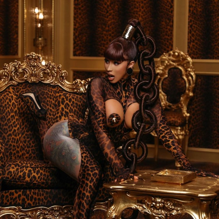 See photos: I believe in God - Cardi B Fights off Illuminati rumours after taking photo with horns
