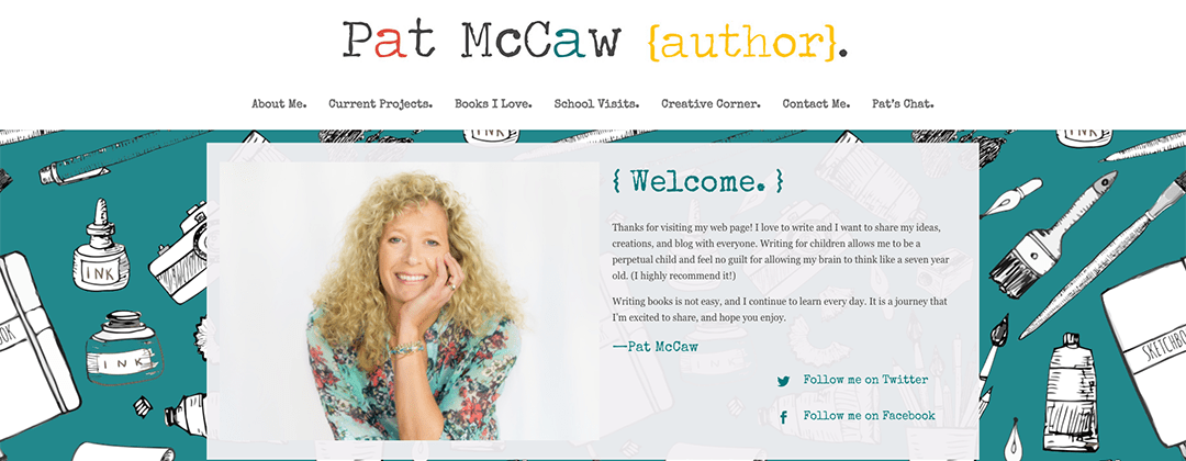 Pat McCaw website