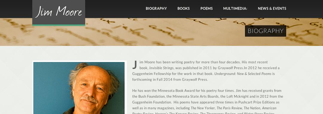 Jim Moore website