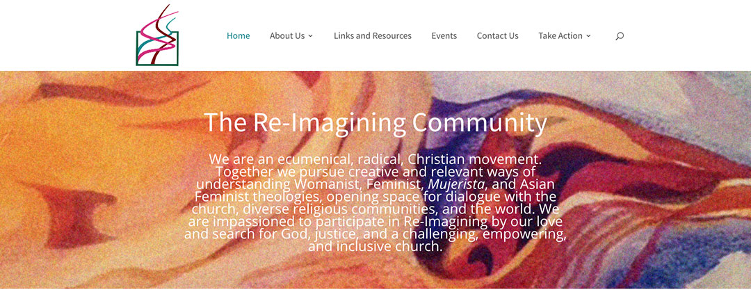 Re-Imagining Community website
