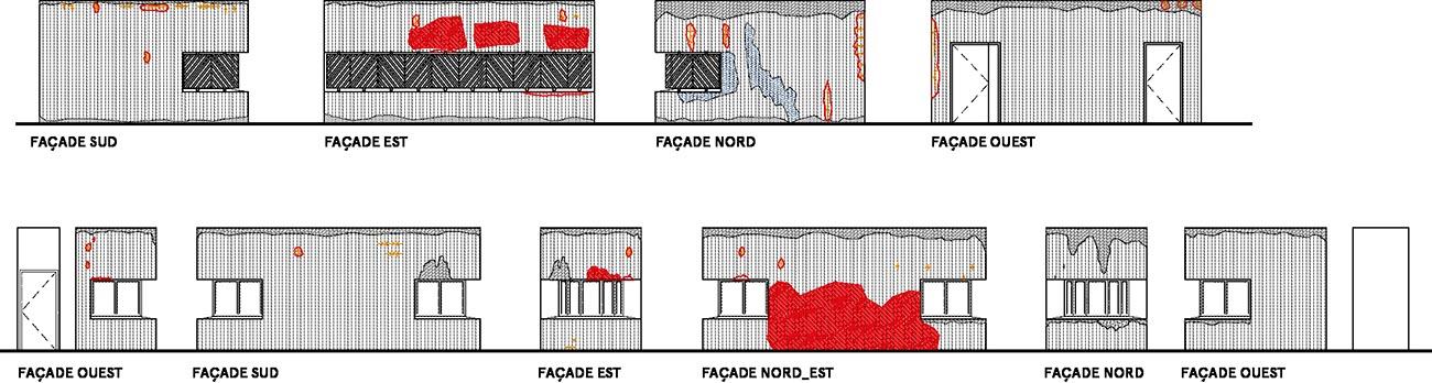 Mouazia - Relevés façades 3