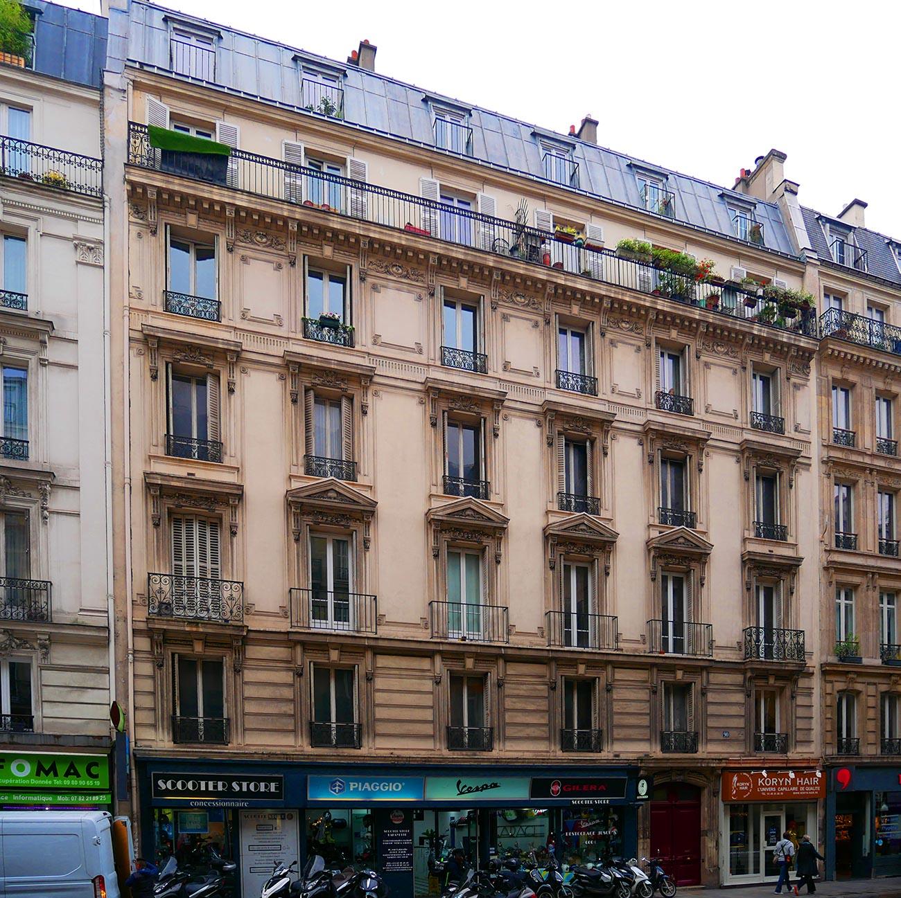 Lafayette - Vue façade angle