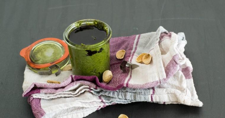 Rucola-Pesto mit Pistazien