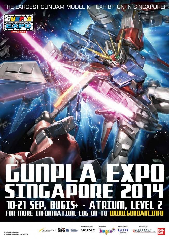 Gunpla Expo 2014 Header