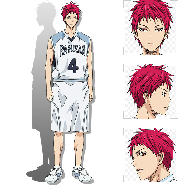 [ANIME]  Rakuzan High Basketball team starting members unveiled