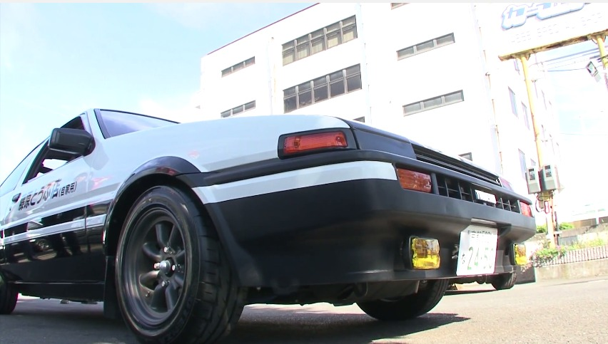 [Anime] This is how Initial D gets its realistic sound effects – by using real race cars