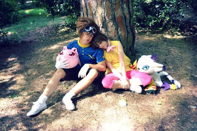 Kairi Yagami with tai COsplay