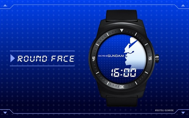[JTECH] Google's Android Wear gets it's own Gundam Watch app