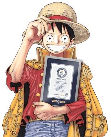 [MANGA] One Piece manga sets new Guinness World Records
