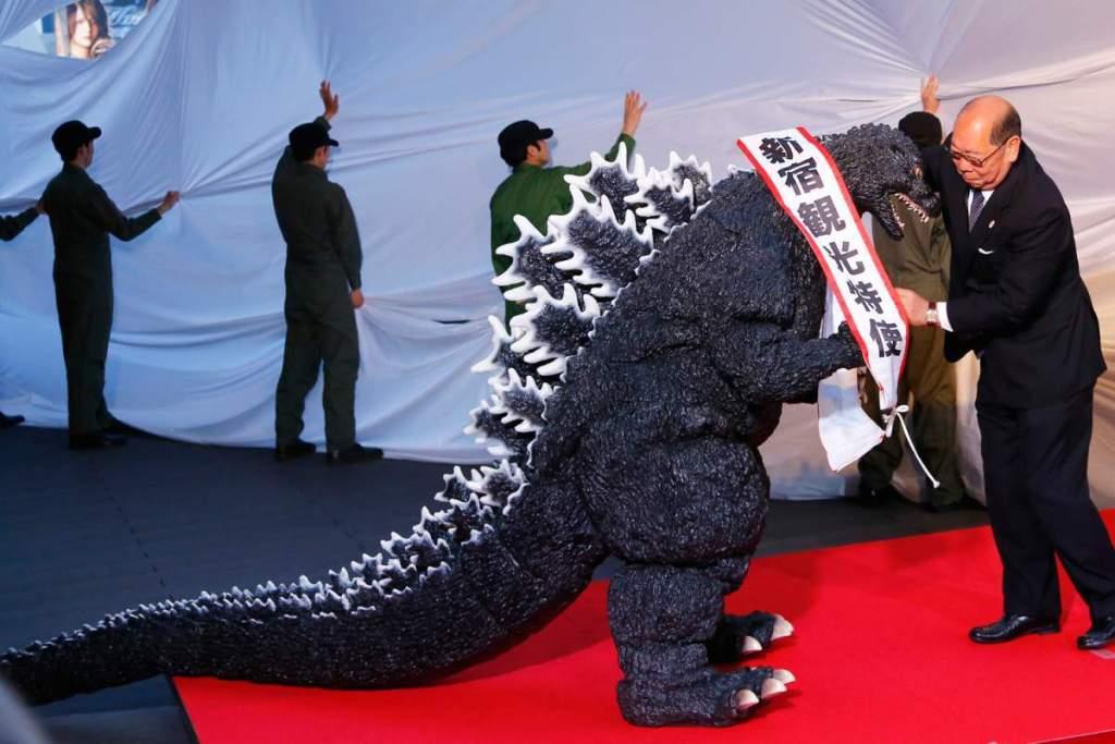 [RANDOM] Godzilla becomes an official Japanese citizen and tourism ambassador